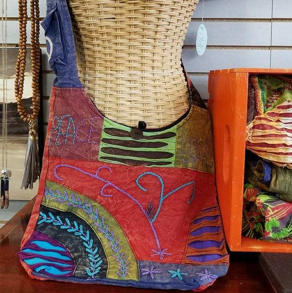 Rising International Handbags - BOHEMIAN CROSSBODY